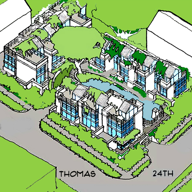 Urban Homes on a Shared Site